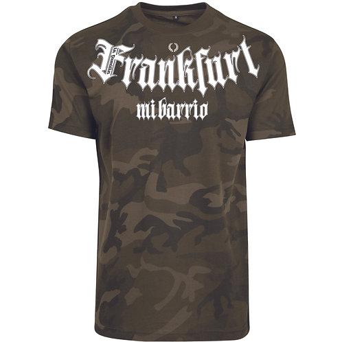 Mi Barrio Casual La Familia Frankfurt Herren T-Shirt, black,camouflage