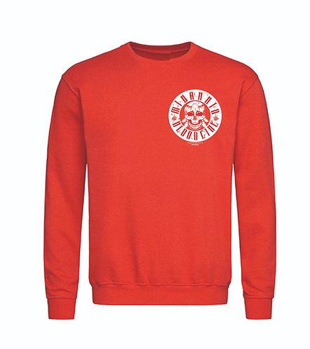 Mi Barrio Bloodline Patch Sweatshirt, Pulli Prime Selection, schwarz oder rot