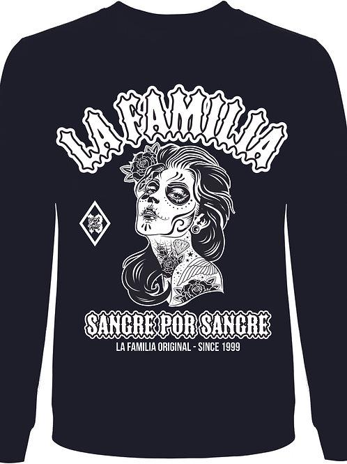 La Familia Original, Dias de los muertos, Sweatshirt in schwarz