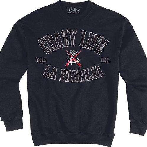 """LA FAMILIA ORIGINAL """"CRAZY LIFE - MALA VIDA"""" 2020 Sweatshirt"""