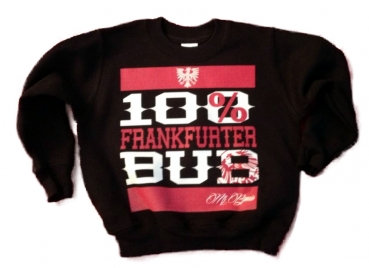 "Mi Barrio 100% Frankfurter Bub ""RUN"" Kids-Sweatshirt"