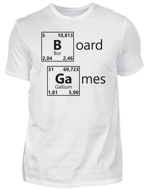 Periodensystem Weiß  - Herrenshirt