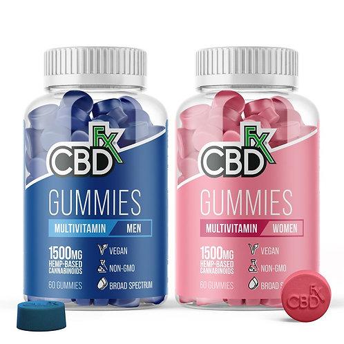 Multivitamin CBD Gummies 8CT For Women & Men