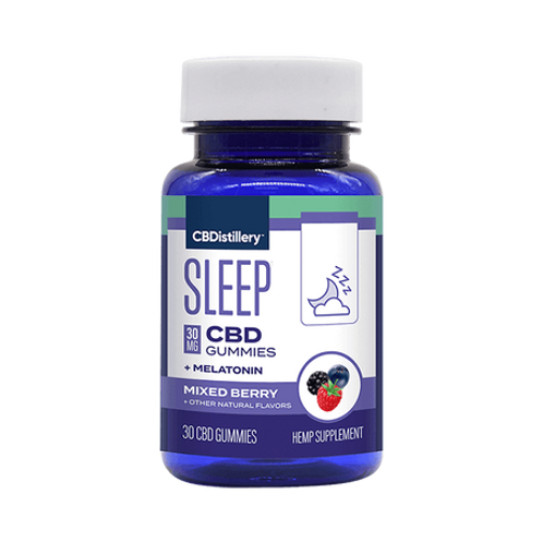 30mg Broad Spectrum CBD Sleep Gummies + Melatonin - 30 Count - 0% THC*