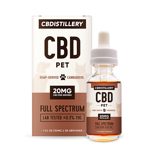CBD Pet Tincture 600mg (30ml)