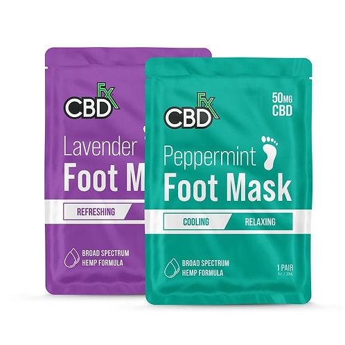 CBD Foot Masks – Lavender & Peppermint 50mg