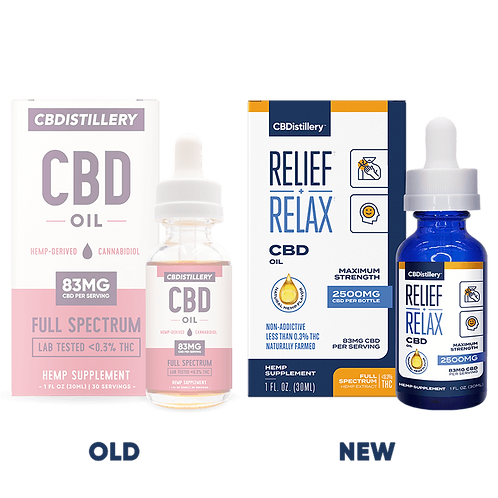 Full Spectrum CBD Oil Tincture - 2500mg - 30ml
