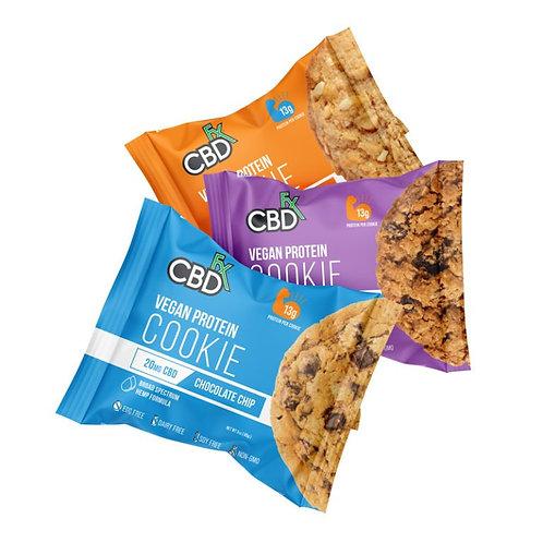 CBD Cookies With Protein – 100% Vegan