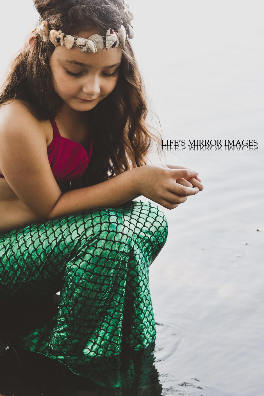 Mermaid mini sessions / Scottsboro, Al and Nashville, TN portrait photographer