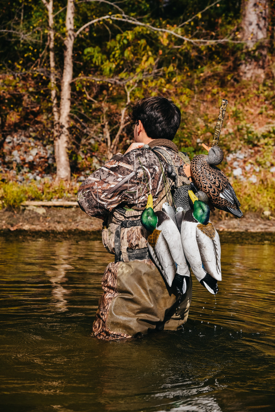 Carson's Senior Portraits; Duck Hunting in Scottsboro, AL