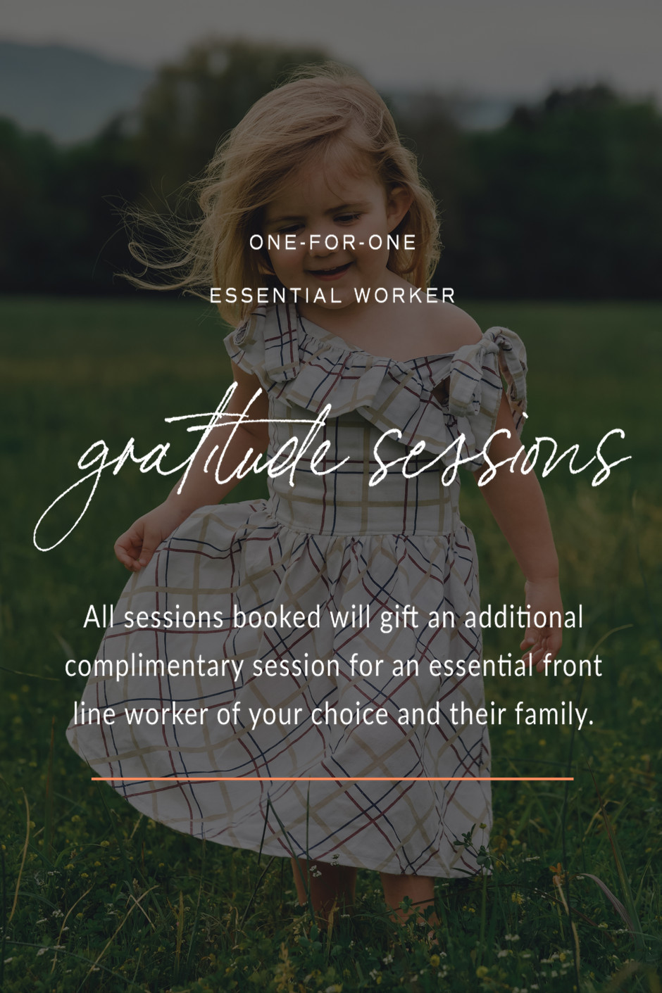 One for One Essential Worker Gratitude Sessions; Scottsboro, AL photographer