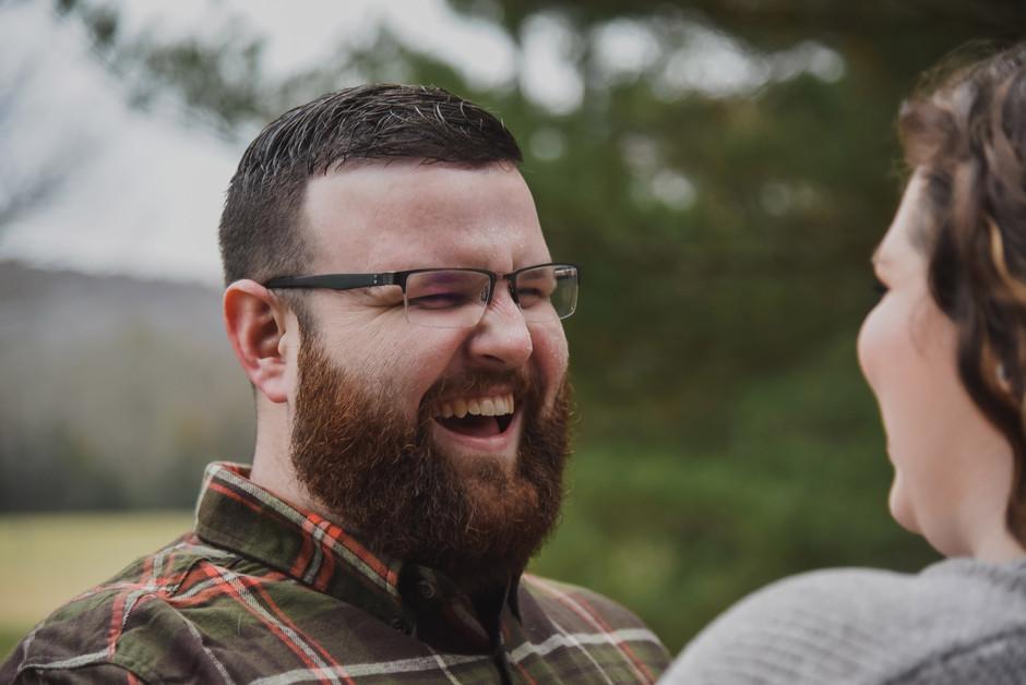 Holly+ Brandon's Engagement Session: Scottsboro, AL wedding photographer
