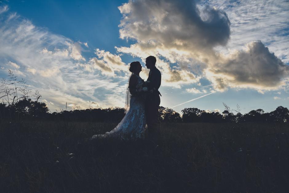 Jessic + Shawn's wedding day; Dawson's Honeysuckle Farm