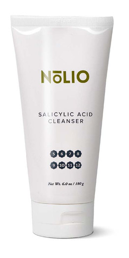 Nolio Salicylic Acid Cleanser Promo Kit.