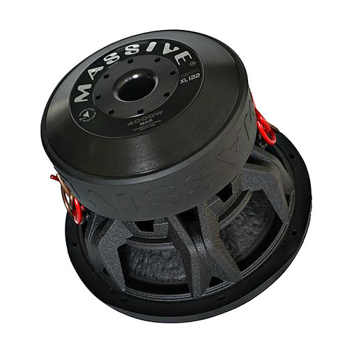 HIPPO XL122 MASSIVE AUDIO SUBWOOFER