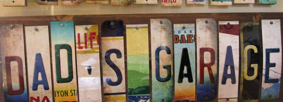 License Plate Letters