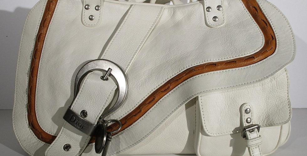 CHRISTIAN DIOR Gaucho Double Saddle Bag Hangbag