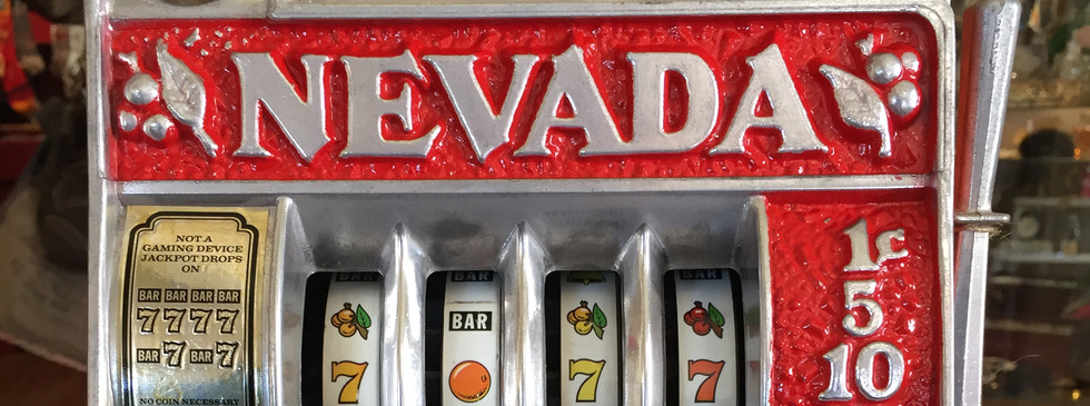Reno Nevada Toy Slot Machine