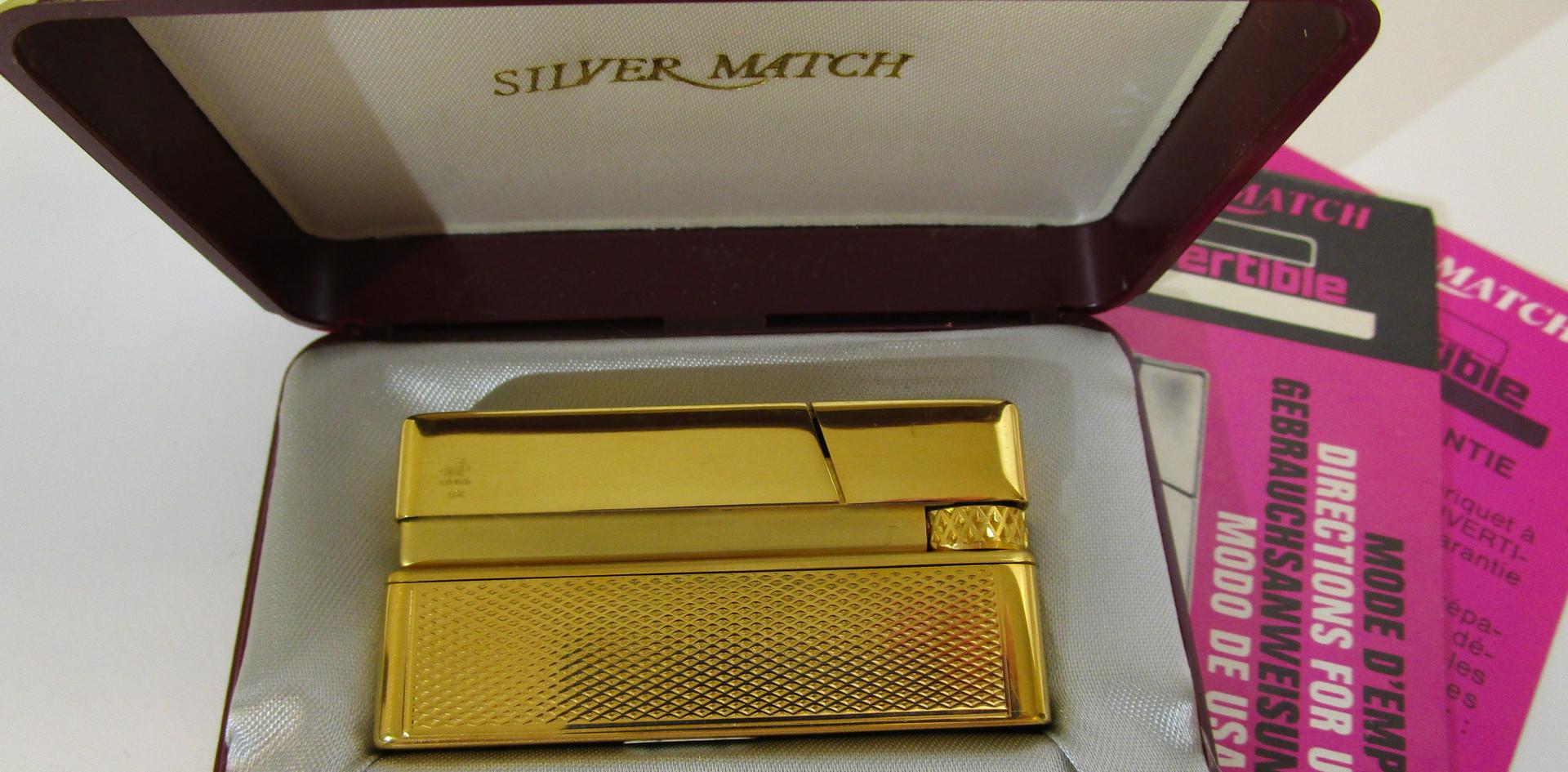 Silver Match Lighter