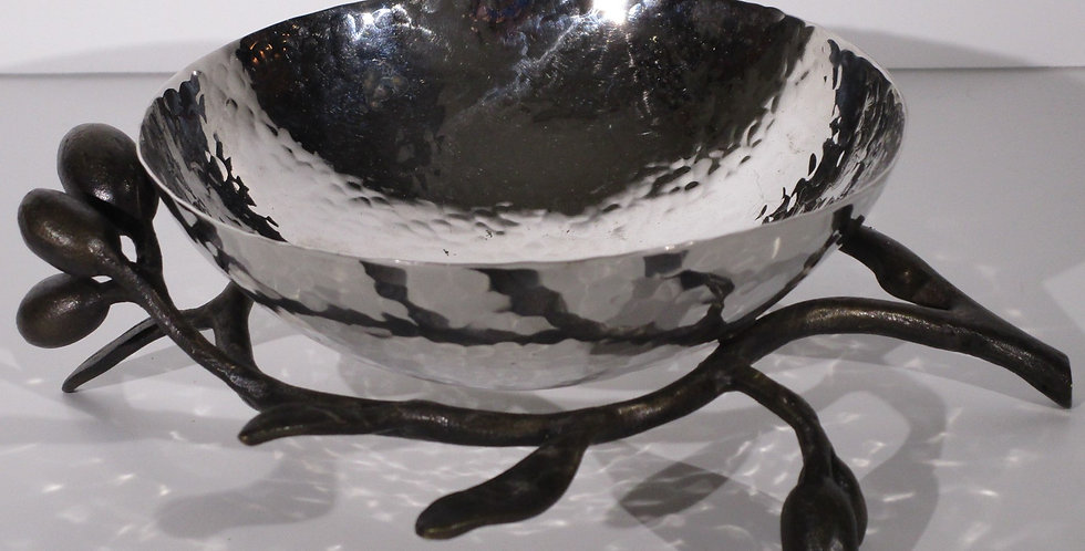 Michael Amar Olive Branch Nut / Candy Dish