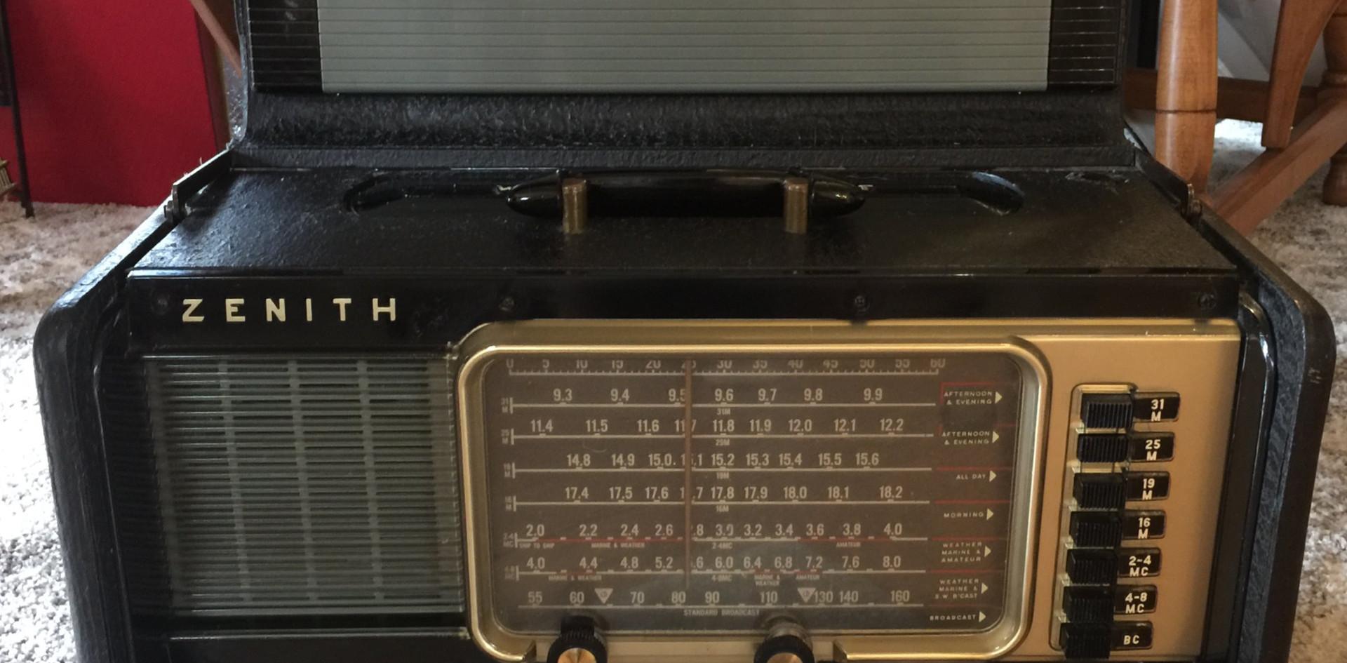 Zenith Short Wave Radio