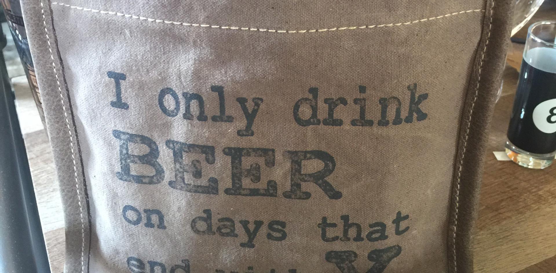 Beer or Wine Cooler Bottle Carrier