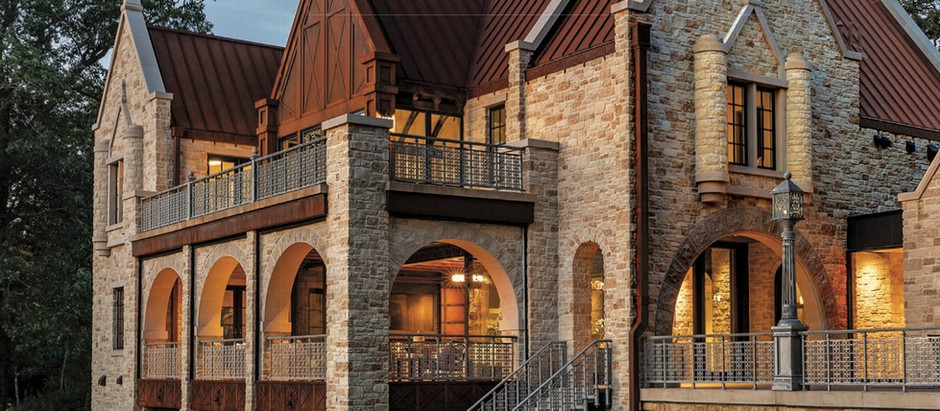 Midwest Home features the Orono Castle, Huntington Manor