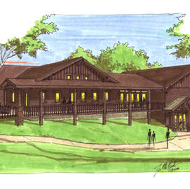 YMCA Camp Ihduhapi Dining Hall