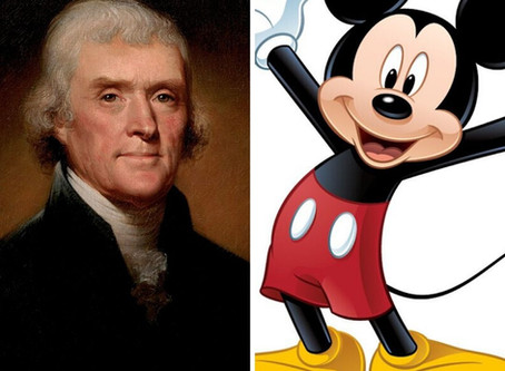 What Do Mickey Mouse and Thomas Jefferson Have In Common (Besides the Hall of Presidents)?