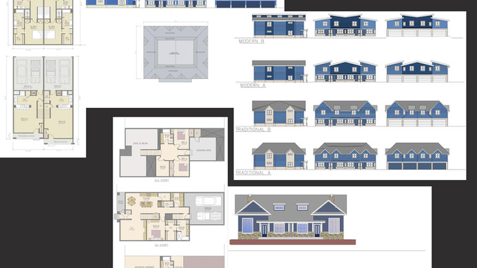 Single Family Residences, Duplex, Fourplex, or Multi-Family are all residential types CMDD can provide services for. Helping process design options and paving the way of success to your project.
