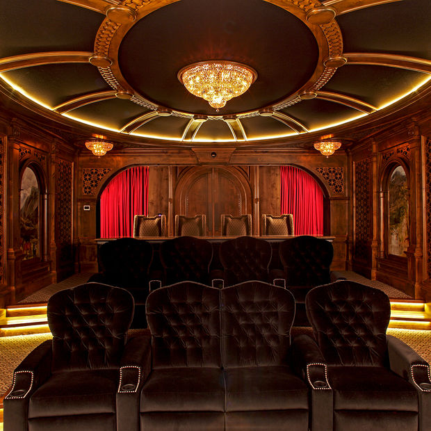 Game Rooms and Theaters