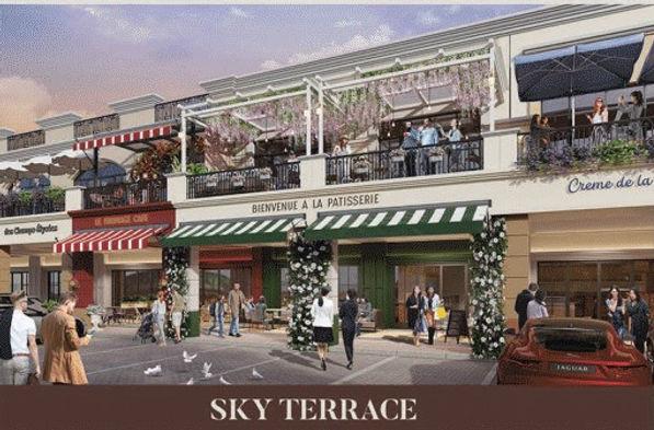 Sky Terrace / Balcony