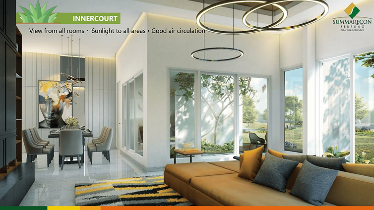 Design Innercourt Cluster Mozart Symphonia Summarecon Gading Serpong summarecon-residence.com