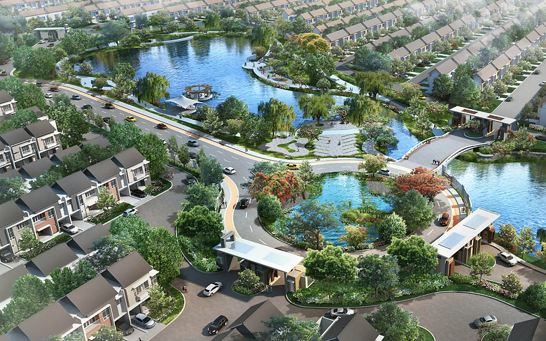Eagle View Cluster Verdi Symphonia Summarecon Serpong summarecon-residence.com