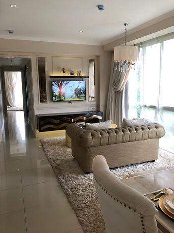 Rainbow Springs Condovillas 3 Br Living Room symphonia summarecon serpong summarecon-residence.com
