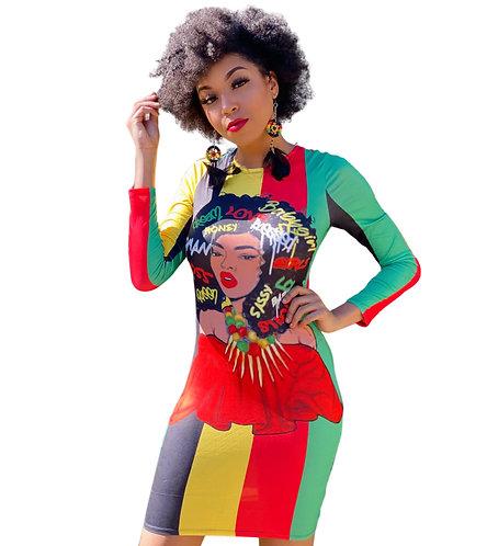 REGGAE Afro Dress