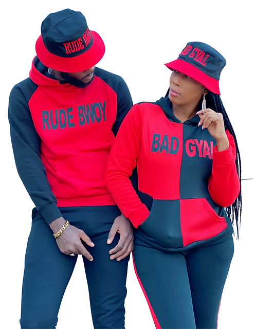 Bad Gyal / Rude Bwoy- Bucket Hat