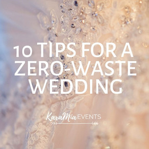 10 Tips for a Zero-Waste Wedding