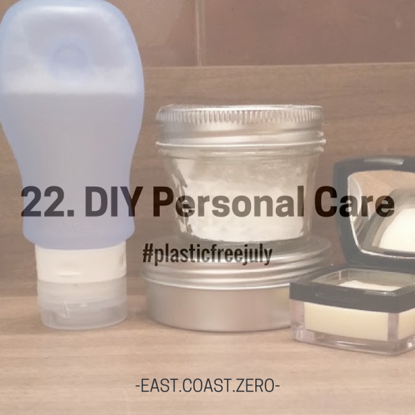 Not only do many personal care products come packaged in plastic, but they also come full of concerning ingredients. Know what you're putting on your body and eliminate the packaging by making your own!