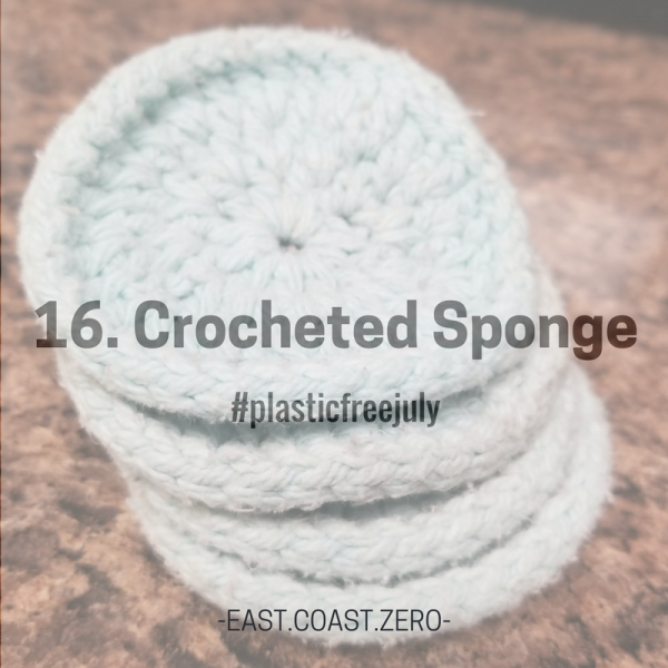 Say goodbye to yucky plastic sponges and say hello to cotton sponges that you can toss in the laundry! Enjoy the feeling of having a fresh, plastic-free sponge every day!