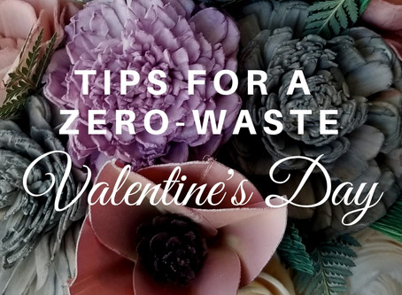 Tips for a Zero-Waste Valentine's Day