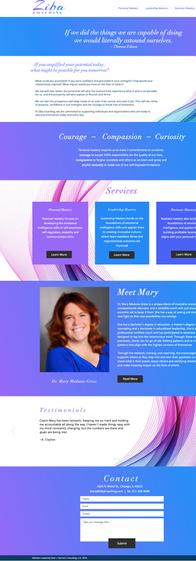 Ziba coaching website