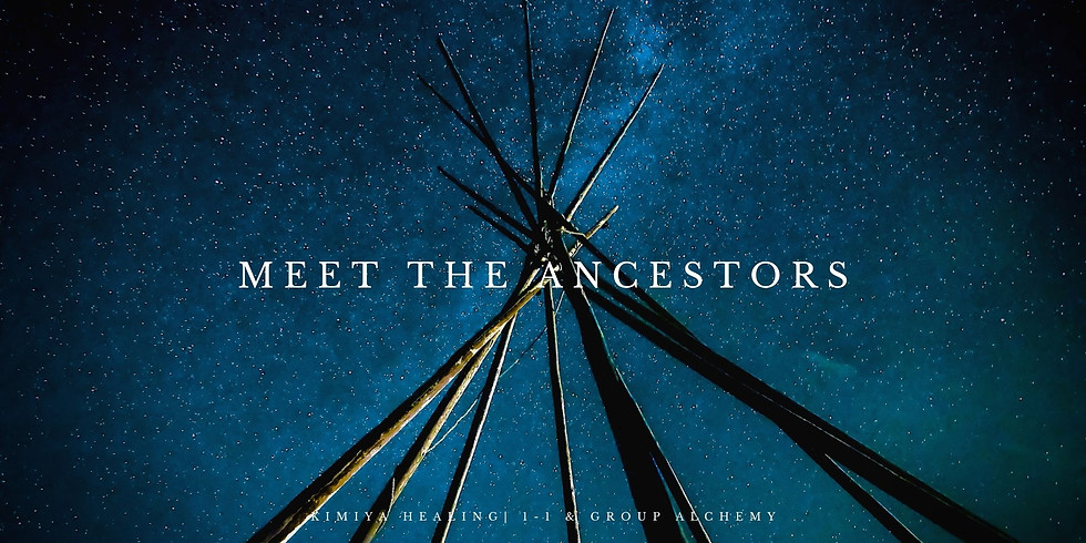Meet the Ancestors **FULLY BOOKED**