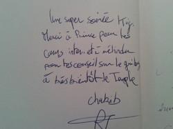 Livre d'Or 9 - Chakib