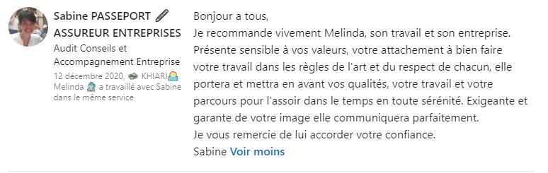 Témoignage Sabine Passeport