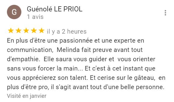 Témoignage Guénolé LE PRIOL