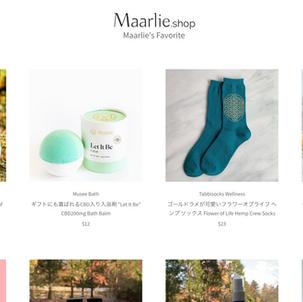 私の好きなものだけを販売するオンラインショップをスタートしました。