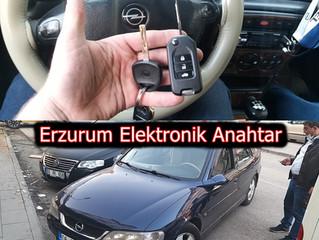 2000 Opel Vectra B Sustalı Kumandalı Anahtar Yapımı