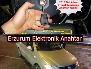 2010  Fiat Albea Orjinal Kumandalı Anahtar Yapımı