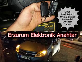 2006 Opel Astra H Orjinal Sustalı Kumandalı Anahtar Yapımı